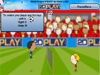 Скачать флеш игру Футбол через сетку
