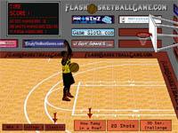 Скачать флеш игру Баскетбольный бросок