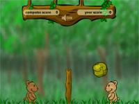 Скачать флеш игру Лесной волейбол