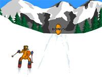 Скачать флеш игру Лыжный слалом