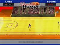 Скачать флеш игру Баскетбольная обводка.