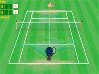 Скачать флеш игру Большой теннис.