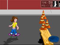 Скачать флеш игру Дорожный тинейджер